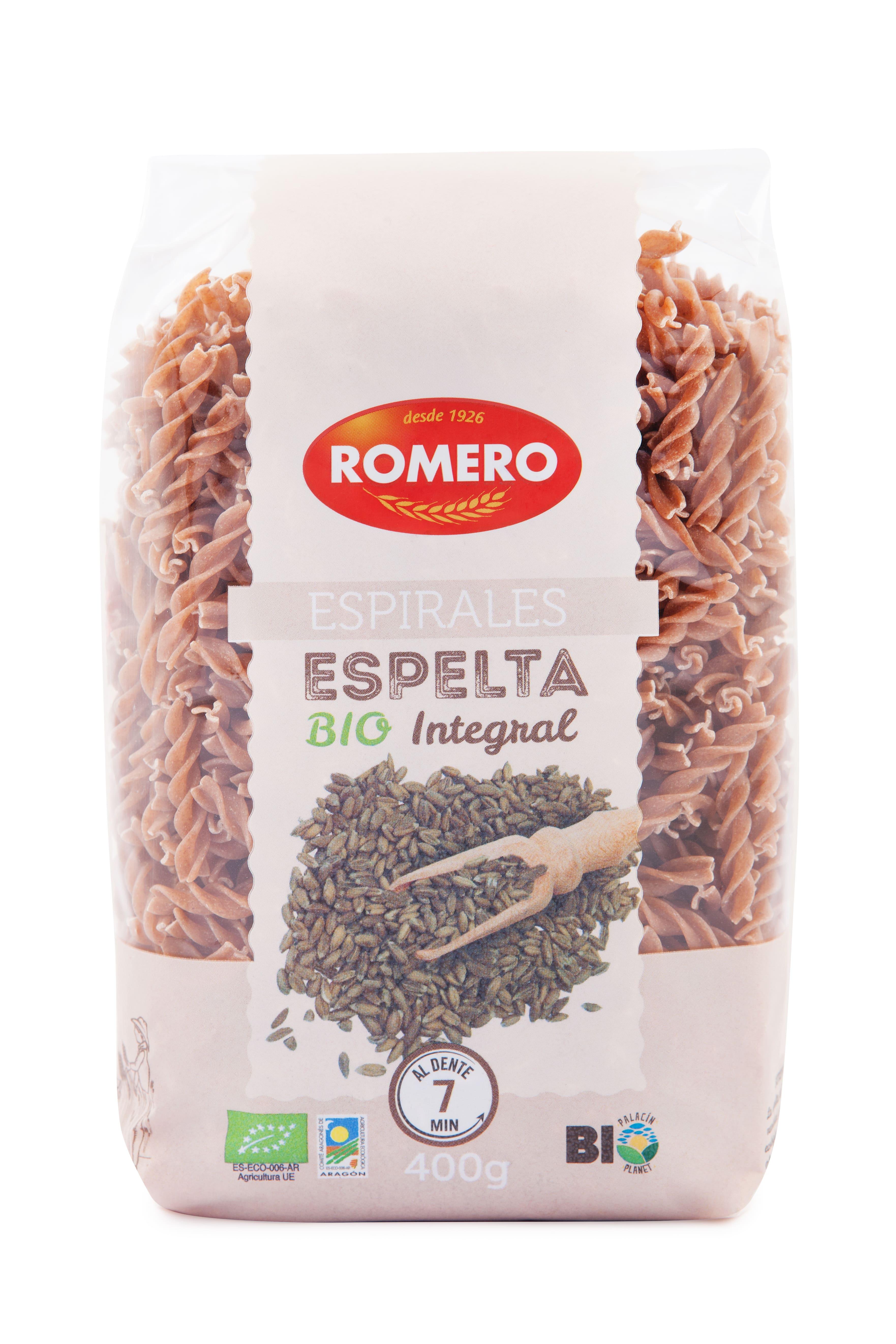 Espelta de Pastas Romero