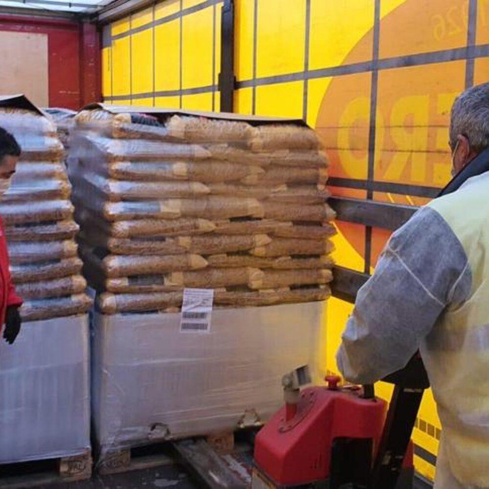 Donación de 5.000 kilos de Pasta